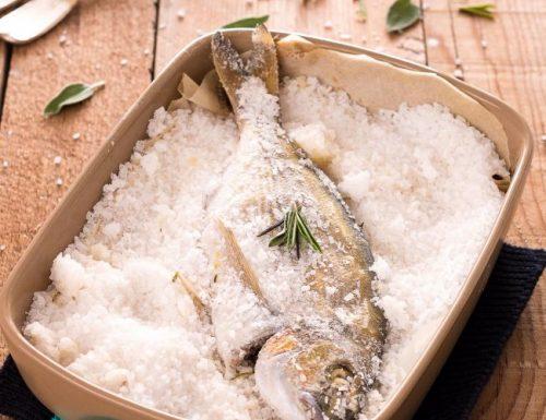 Orata in crosta di sale di Cervia