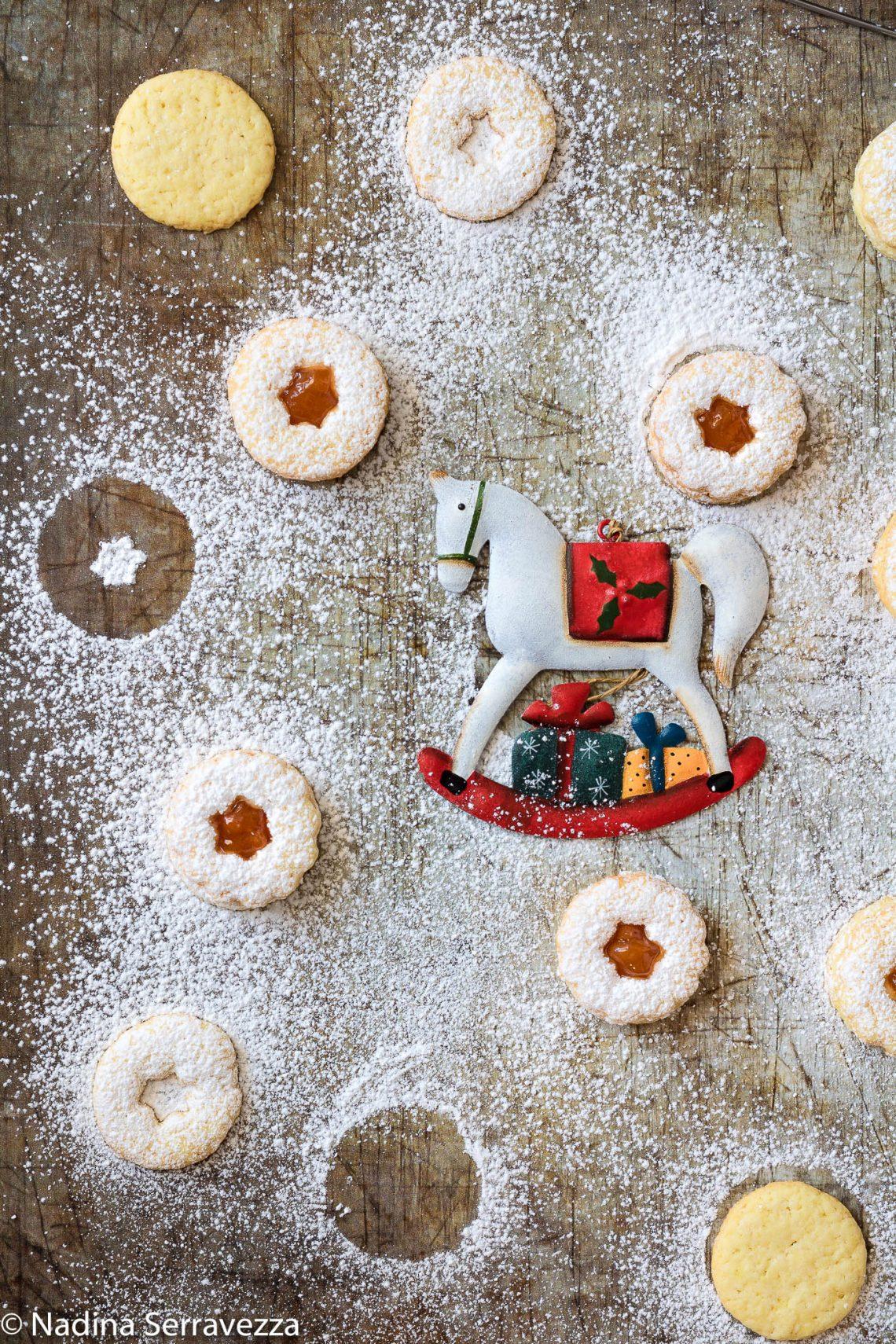 Biscotti Di Natale Tirolesi.Spitzbuben Biscotti Ricetta Natalizia Tradizionale E Ricetta Bimby