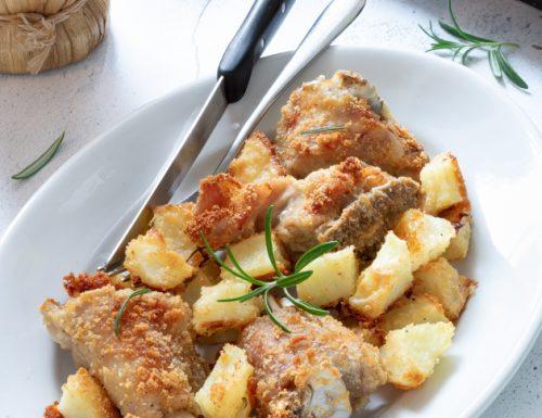 Agnello al forno alla Lucana