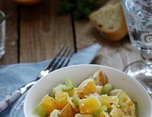 Insalata di arance alla materana, ricetta lucana