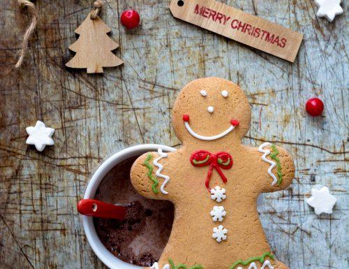 Ricetta Biscotti di Pan di zenzero ( gingerbread cookies), con e senza il bimby