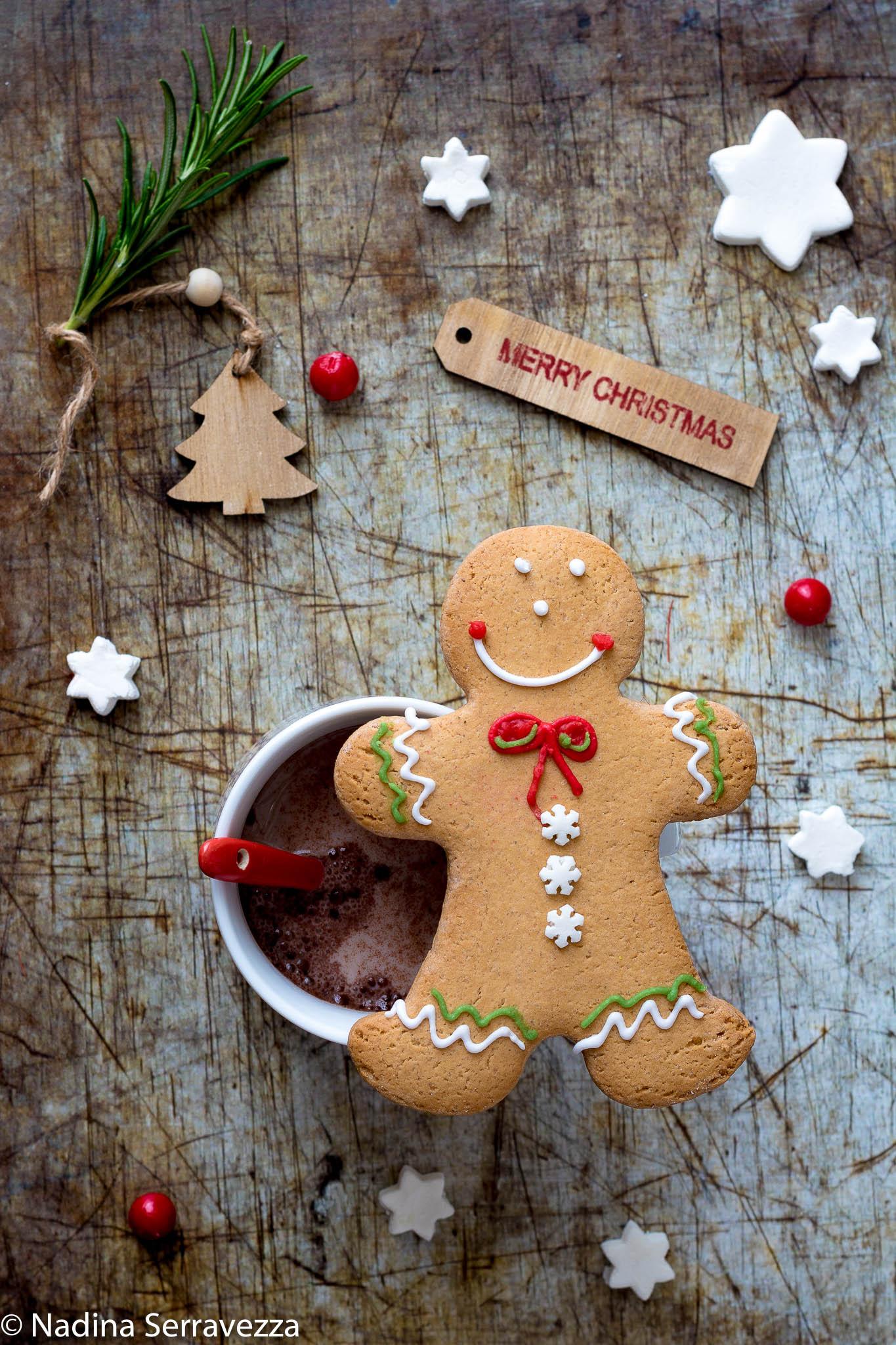 Ricetta Biscotti di Pan di zenzero ( gingerbread ), con e senza il bimby