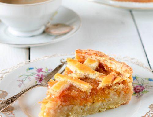 Crostata alle mele e marmellata di Anna del Conte, ricetta per il club del 27