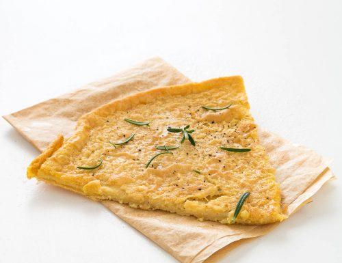 Cecina, ricetta toscana con farina di ceci