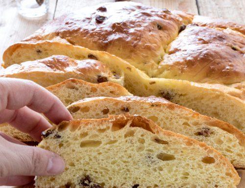 """Pagnotta romagnola pasquale o """"Pagnotta 'd Pasqua"""", ricetta tradizionale con e senza Bimby"""