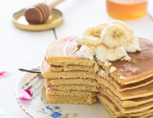 Pancake senza burro, ricetta tradizionale e ricetta Bimby
