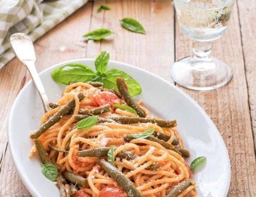 Spaghetti con i fagiolini, ricetta semplice e gustosa