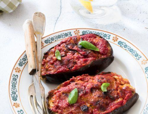 Melanzane ripiene al forno alla Nanà, ricetta gustosissima