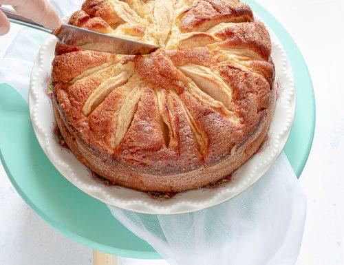 Torta di mele e ricotta, ricetta tradizionale e ricetta Bimby