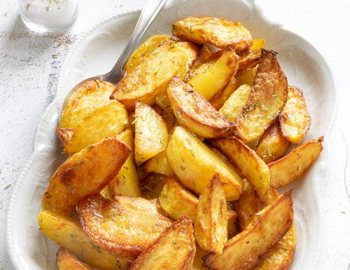 Patate al forno croccanti e golosissime