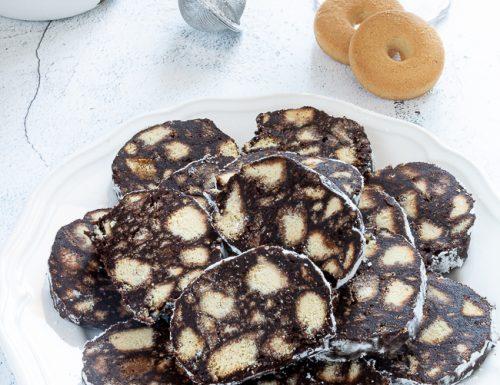 Salame di cioccolato, ricetta golosa senza uova
